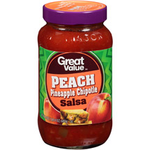 Great Value Peach Pineapple Chipotle Salsa