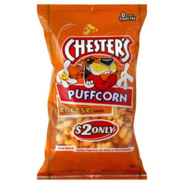Chester's Puffcorn Cheese Corn Snacks