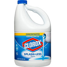 Clorox Splash-less Regular-Bleach Concentrated 116 Fluid Ounces