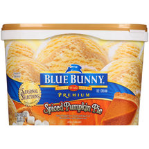 Blue Bunny Premium Spiced Pumpkin Pie Ice Cream