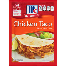 McCormick Chicken Taco Seasoning Mix
