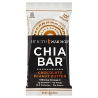 Health Warrior Chocolate Peanut Butter Chia Bar