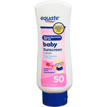 Equate Baby Sunscreen Lotion SPF 50