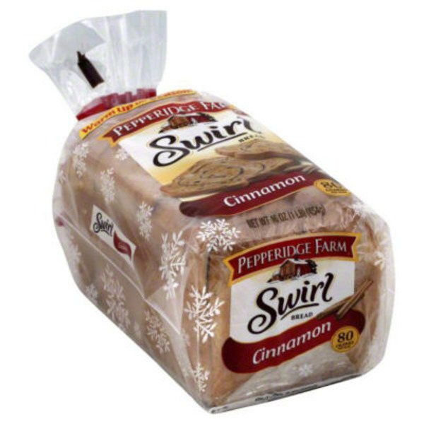 Pepperidge Farm Fresh Bakery Swirl Cinnamon Bread