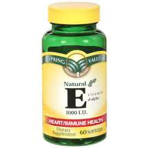 Spring Valley Natural E Vitamin D-Alpha Dietary Supplement