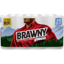 Brawny Pick-a-Size Giant Plus Roll Paper Towels