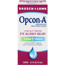 Bausch And Lomb Itching And Redness Reliever Opcon-A Eye Drops