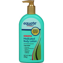 Equate Severe Dry & Itch Medicated Lotion
