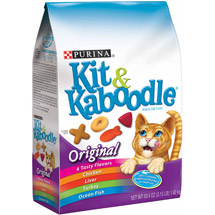 Purina Kit and Kaboodle Dry Cat Food Original
