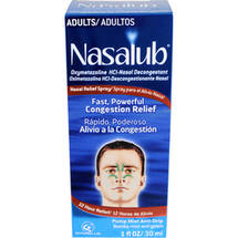Nasalub Adult Nasal Relief Spray
