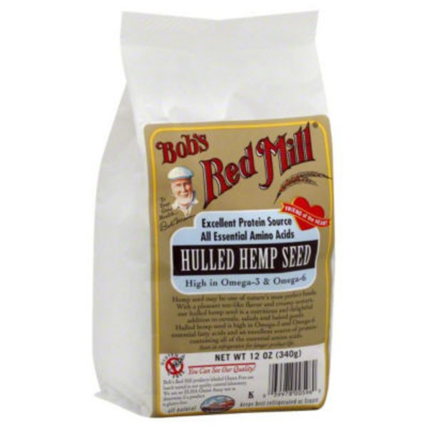 Bob's Red Mill Hulled Hemp Seed Hearts