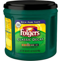 Folgers Classic Decaf Medium Ground Coffee