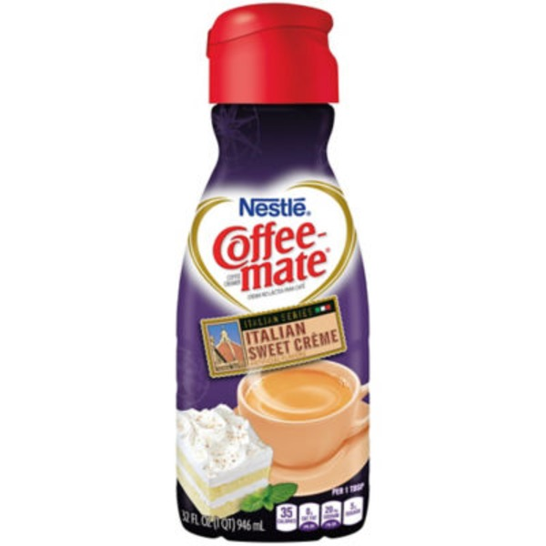 Nestlé Coffee Mate Italian Sweet Creme Liquid Coffee Creamer