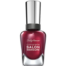 Sally Hansen Complete Salon Manicure Nail Color Wine Not