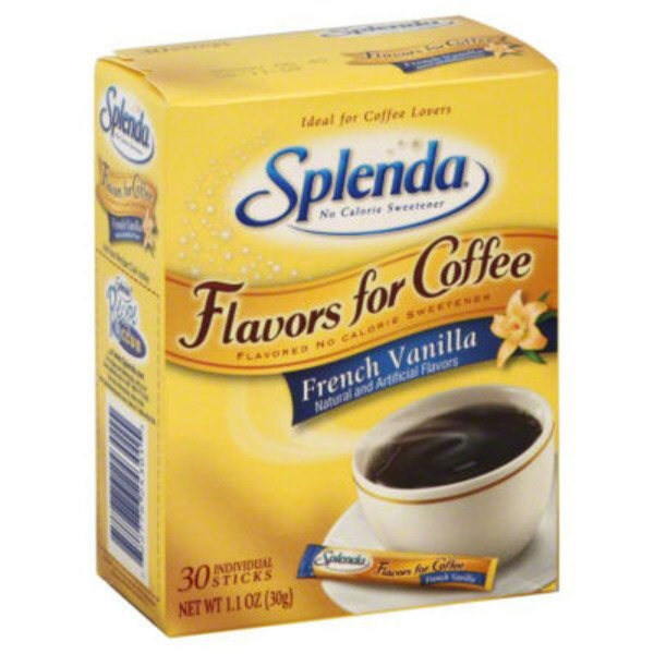 Splenda® Flavors for Coffee French Vanilla Posted 5/7/2014 No Calorie Sweetener