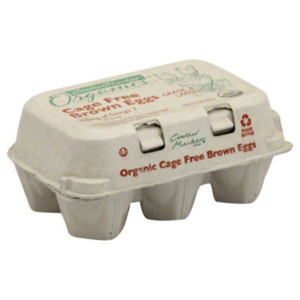 Central Market Organic Cage Free Brown Eggs