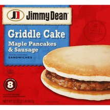 Jimmy Dean Griddle Cake Family Pack Sandwiches