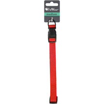 PetWear Medium Dog Collar Red