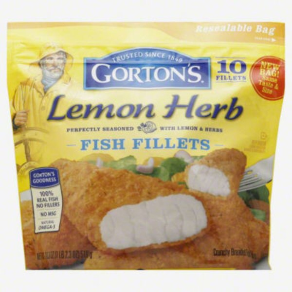 Gorton's Savory Lemon Herb Fish Fillets