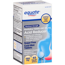 Equate Maximum Strength Cool Mint Acid Reducer Tablets