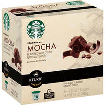 Starbucks Mocha Ground Coffee K-Cups
