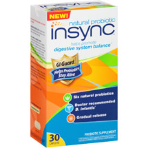 Insync Natural Probiotic Supplement