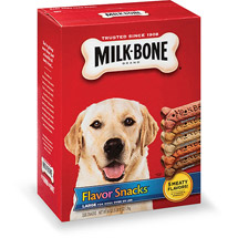Milk-Bone Flavor Snacks Dog Biscuits - for Large Dogs