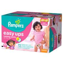 Pampers Easy Ups Girls' Training Pants 3T-4T