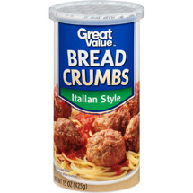 Great Value Italian Style Bread Crumbs