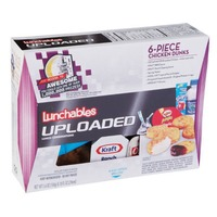 Oscar Mayer Lunchables 6 Piece with 10 fl oz Spring Water Uploaded Chicken Dunks