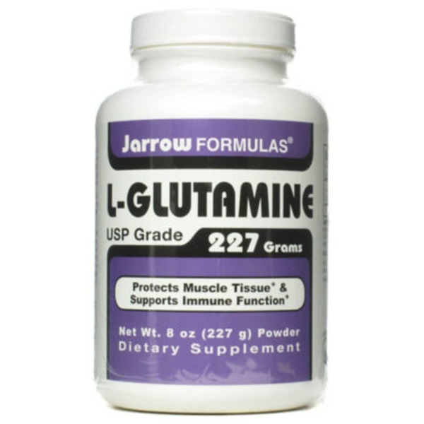 Jarrow Formulas L-Glutamine Dietary Supplement