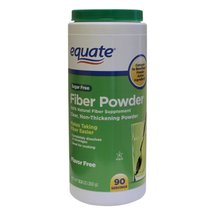 Equate Sugar Free Fiber Powder Supplement