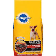 Pedigree® Small Dog Targeted Nutrition Steak & Vegetable Flavor Dry Dog Food
