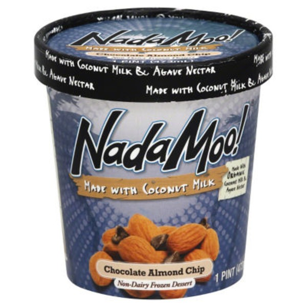 Nadamoo! Non-Dairy Chocolate Almond Chip Frozen Dessert