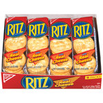 Nabisco Ritz Crackers w/Real Cheese 8 Ct Single Serve