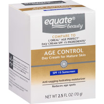 Equate Beauty Age Control Day Cream for Mature Skin