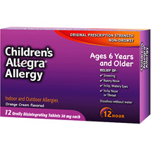 Allegra Children's 12-Hour Allergy Relief