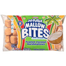 Kraft Jet-Puffed Mallow Bites Toasted Coconut Marshmallows