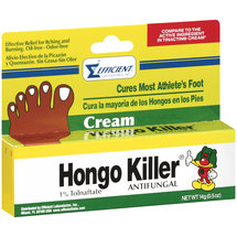 Hongo Killer 1% Tolnaftate Antifungal Cream