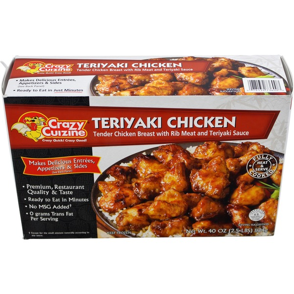 Crazy Cuizine Teriyaki Chicken