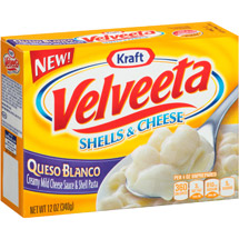 Kraft Queso Blanco Velveeta Shells & Cheese