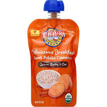 Earth's Best Organic Wholesome Breakfast Sweet Potato Cinnamon Pouch