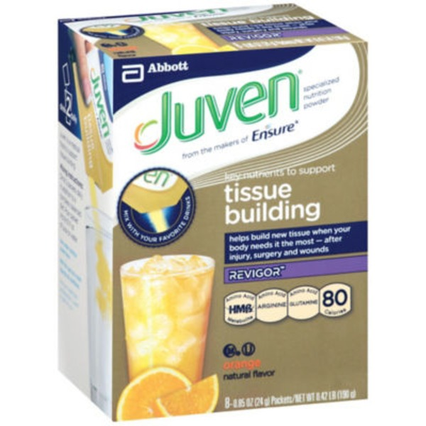 Juven Specialized Tissue Building Orange Nutrition Powder