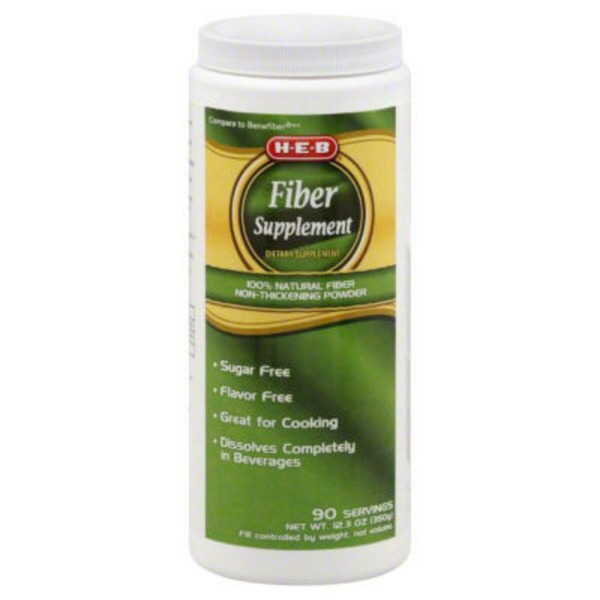 H-E-B Fiber Supplement