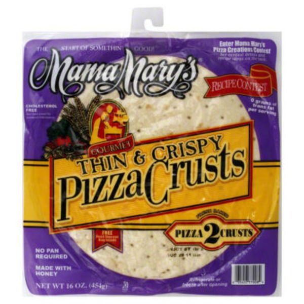Mama Mary's Thin & Crispy Pizza Crusts