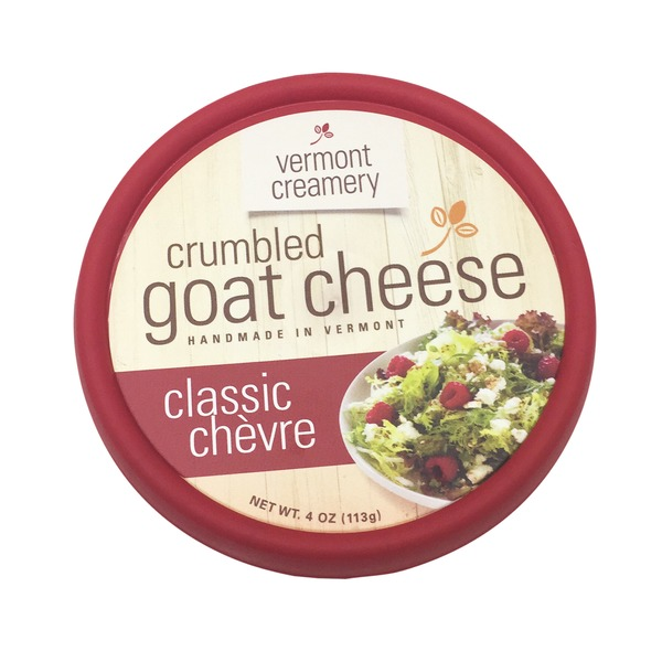 Vermont Creamery Classic Chevre Crumbled Goat Cheese