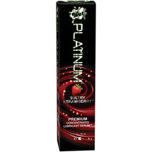 WetWet Platinum Sultry Strawberry Premium Concentrate Lubricant Serum