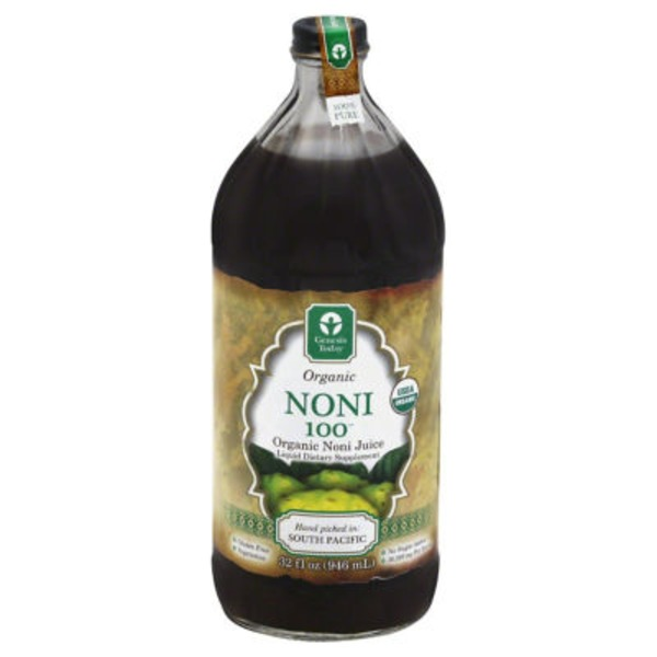 Genesis Today Organic Noni 100 Juice