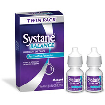 Systane Balance Lubricant Eye Drops Twin Pack