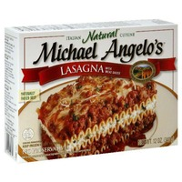 Michael Angelo's Organic Lasagna with Meat Sauce